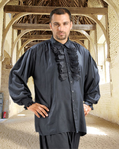 Fashion Vests Hide  Shirt on Medieval Dress Shirt   Dropship Pirate   Medieval Clothing