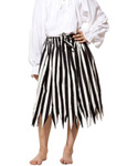 Girls Stripped Pirate Skirt