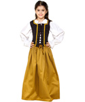 Girls Cotton Medieval Skirt