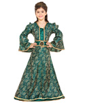 Girls Brocade Dress
