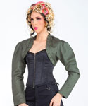 Steampunk Military Bolero Jacket